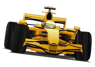 Fototapeta Samochód wyścigowy Formuły
