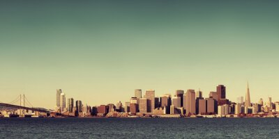 Fototapeta San Francisco Skyline
