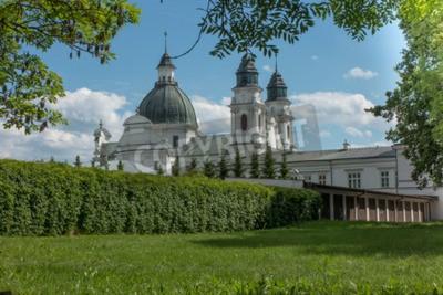 Fototapeta Sanktuarium, Bazylika NMP w Chełmie we wschodniej Polsce w pobliżu Lublina, bramy miłosierdzia