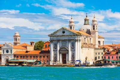 Fototapeta Santa Maria del Rosario in Venice, Italia