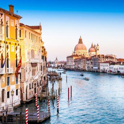 Fototapeta Santa Maria Della Salute et le Grand Canal à Venise