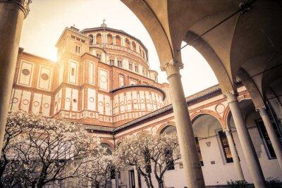Fototapeta Santa Maria delle Grazie w Mediolanie