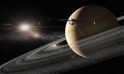 Fototapeta Saturne