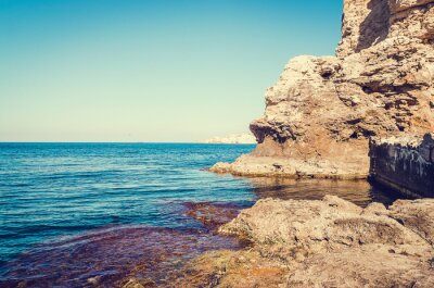 Fototapeta Scena Marine ze skał