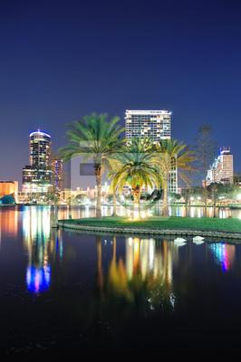Scena nocy w Orlando