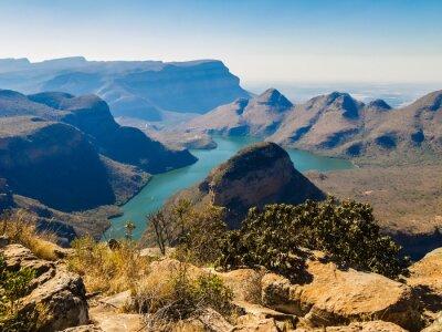 Fototapeta Scenic widok Blyde River Canyon, RPA