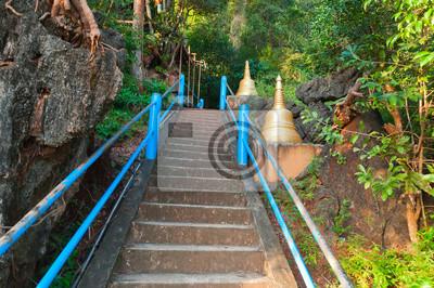 Schody do góry Tiger Cave Temple