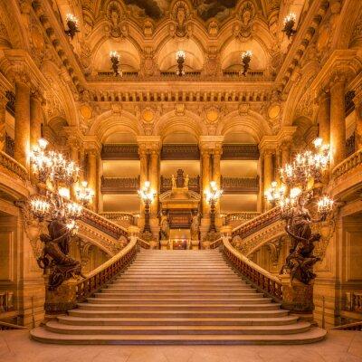 Fototapeta Schody w Operze