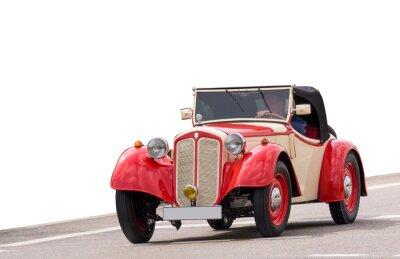 Fototapeta Schöner alter oldtimer, klasyczny samochód