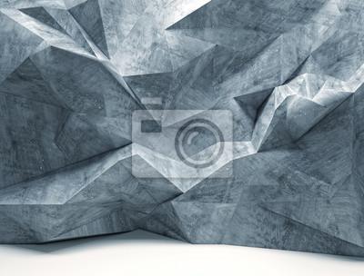 Fototapeta Ściana geometryczne