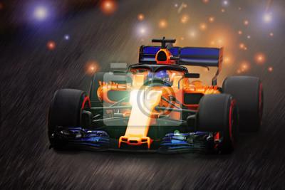 Fototapeta scyntylacja w Formule 1