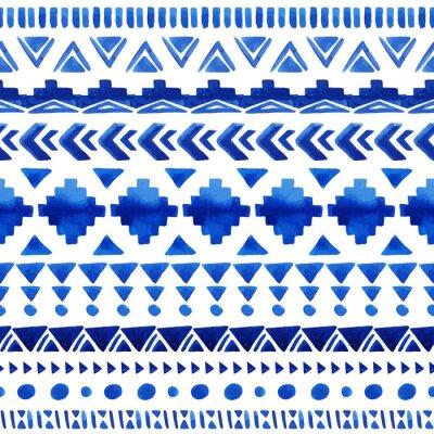Fototapeta Seamless aztec pattern.