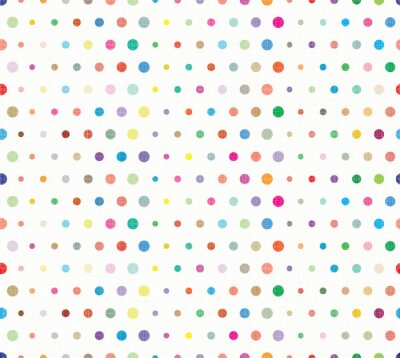 Fototapeta Seamless background pattern with dots