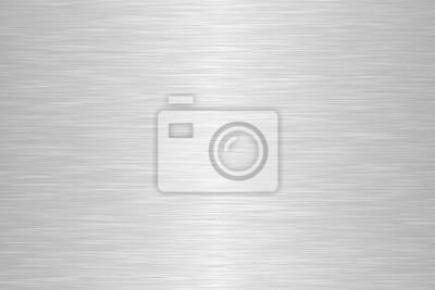 Fototapeta Seamless brushed metal texture. Steel background. Vector illustration.