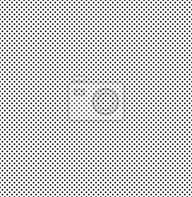 Seamless monochrome dotted texture. Vector polka dot pattern.