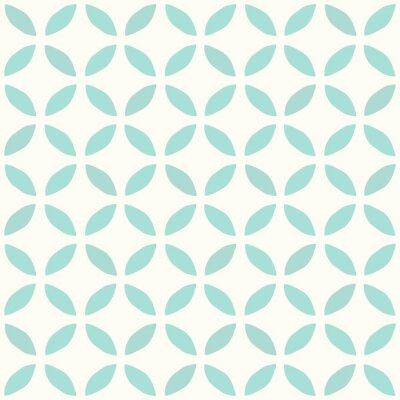 Fototapeta Seamless Pattern. Wyciągnąć rękę. Kwiat. Tło projektu