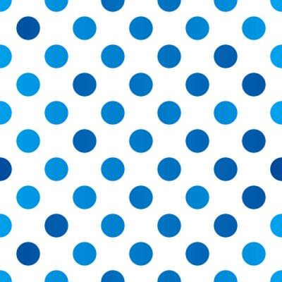 Fototapeta Seamless polka dot pattern for Your design