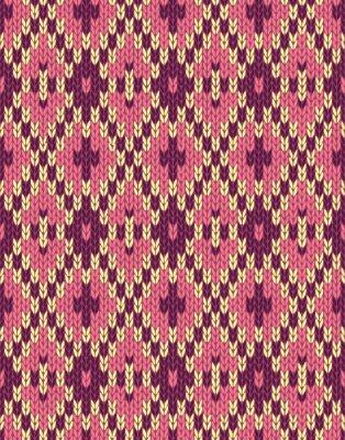 Fototapeta Seamless Textile Texture Pattern