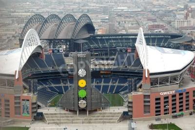 Fototapeta Seattle, WA. 4/2 / 2006.QWEST Stadium.