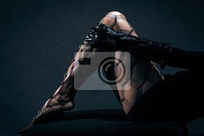 Seksowne czarne kobiety fotki