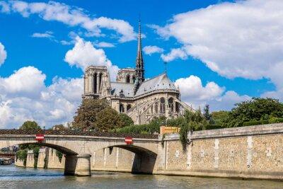 Fototapeta Sekwana i Notre Dame de Paris