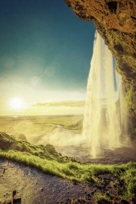 Fototapeta Seljalandsfoss Wodospad w południowej Islandii
