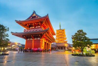 Fototapeta Senso-ji Temple w Tokio, Japonia