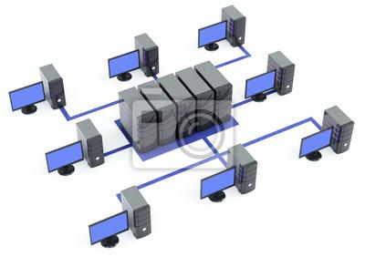 serwery z wieloma pc