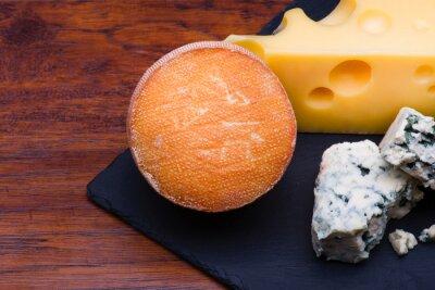 Fototapeta Sery na pokładzie sera