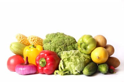 Fototapeta Set of different fresh vegetables close-up. Healthy eating