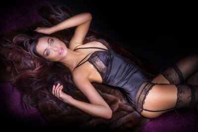 Fototapeta Sexy kobieta z doskonałego ciała.