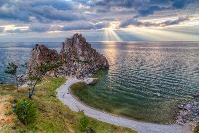 Fototapeta Shaman Rock, Lake Baikal