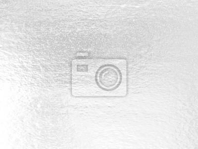 Fototapeta Shiny leaf silver foil pape