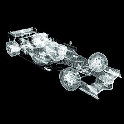 Fototapeta Siatka Formuły