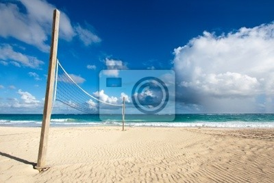 Fototapeta Siatkówka plażowa