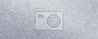 Fototapeta silver glitter sparkle texture background