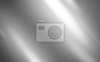 Fototapeta Silver metal texture background design
