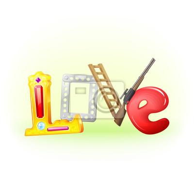 Skład Letters: różne przejawy miłości