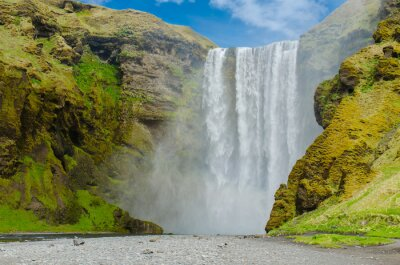 Fototapeta Skogafoss Wodospad w Islandii