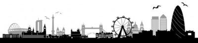 Fototapeta Skyline London
