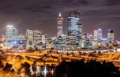 Fototapeta Skyline Perth