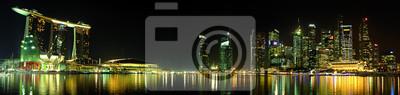 Fototapeta skyline Singapour