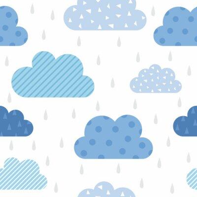 Fototapeta Śliczny wzór chmury