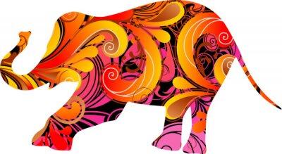Fototapeta Słoń dekoracyjne