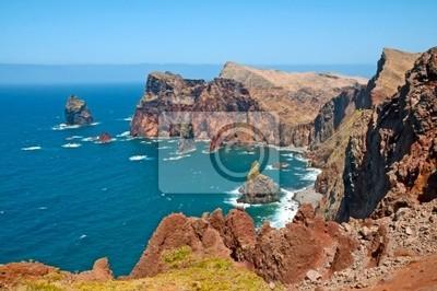 Słoneczny Brzeg w oceanie, Maderze