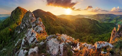 Fototapeta Słowacja górskie na wiosnę - Vršatec