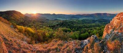 Fototapeta Słowacja panorama las wiosna