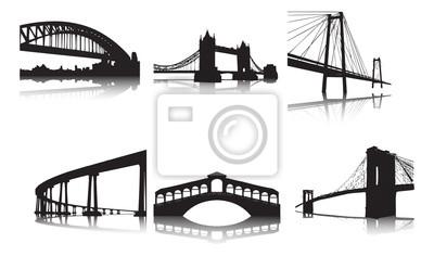 Fototapeta słynne mosty