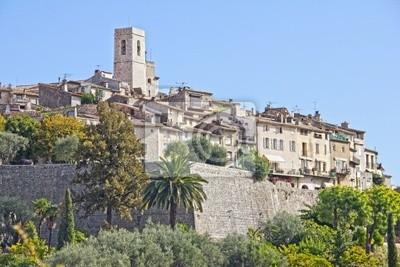 Słynnej miejscowości Saint Paul de Vence, Francja
