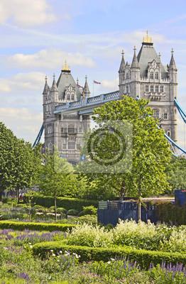 Słynny Tower Bridge, London, UK